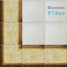 ASK LB0042 Sponged Effect border tiles