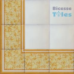 ASK LB0067 Sponged Effect border tiles