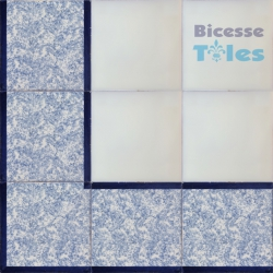 ASK LB0073 Sponged Effect border tiles
