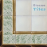 ASK LB0082 Sponged Effect border tiles