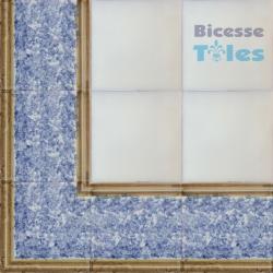 ASK LB0083 Sponged Effect border tiles