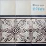 ASK 1103 Portuguese painted border tiles Azulejos