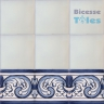 ASK 1104 Portuguese painted border tiles Azulejos