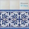 ASK 1108 Portuguese painted border tiles Azulejos