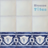 ASK 1109 Portuguese painted border tiles Azulejos