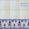 ASK 1110 Portuguese painted border tiles Azulejos