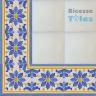ASK 1112 Portuguese painted border tiles Azulejos