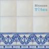 ASK 1114 Portuguese painted border tiles Azulejos