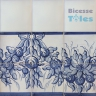 ASK 1293 Portuguese painted border tiles Azulejos