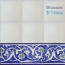 ASK 1295 Turkish Arab painted border tiles