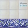 ASK 1295 Turkish Arab painted border tiles