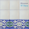 ASK 1297 Turkish Arab painted border tiles