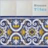 ASK 1299 Portuguese painted border tiles Azulejos