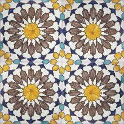 2415 portuguese handmade majolica tile - Decorative Ceramic Tile