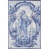 ASK 1302 Portuguese Tiles Mural Religious