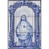 ASK 1303 Portuguese Tiles Mural Religious