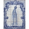 ASK 1304 Portuguese Tiles Mural Religious