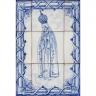 ASK 1305 Portuguese Tiles Mural Religious