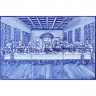 ASK 1387 Religious Mural Last Supper Christ