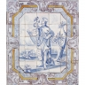 ASK 1394 Portuguese religious tiles mural