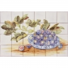 ASK 1398 Portuguese tiles mural fruits