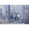 1413 Portuguese artistic panel tile