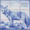 ASK 1483 Wild Animals Tiles Panel