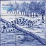 ASK 1485 Wild Animals Tiles Panel