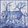 ASK 1487 Wild Animals Tiles Panel