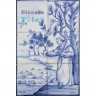 ASK 1489 Religious Tiles Panel Mural