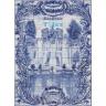 ASK 1493 Neptuno Fountain Tiles Mural