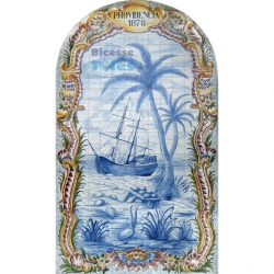 ASK 1494 Providencia 1878 Tiles Mural