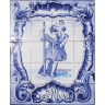 ASK 1498 Religious Tiles Panel Mural
