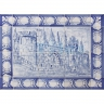 ASK 1517 Landscape Castle Tiles Mural