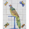 ASK 1518 Colored butterflies Bird Tiles Mural