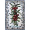 ASK 1525 Fruits Cherries Tiles Panel