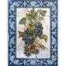 ASK 1526 Fruits Grapes Tiles Panel