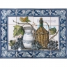 ASK 1527 Fruits Grapes Wine Tiles Panel