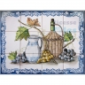 ASK 1528 Fruits Grapes Wine Tiles Panel