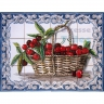 ASK 1529 Fruits Cherries Tiles Panel