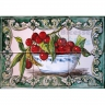 ASK 1530 Fruits Cherries Tiles Panel