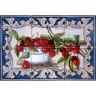ASK 1531 Fruits Cherries Tiles Panel