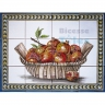 ASK 1533 Fruits Pomegranates Tiles Panel