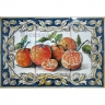 ASK 1534 Fruits Oranges Tiles Panel