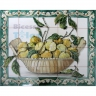 ASK 1535 Fruits Lemons Tiles Panel