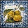 ASK 1538 Fruits Lemons Tiles Panel