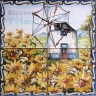 ASK 1541 Windmill Landscape Tiles Panel
