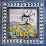 ASK 1543 Windmill Landscape Tiles Panel