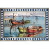 ASK 1554 Traditional Fishing Boats Tiles Panel