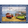 ASK 1556 Traditional Fishing Boats Tiles Panel